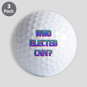 WHO ELECTED CNN(white) Golf Balls