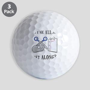 RockPaperScissors Golf Balls