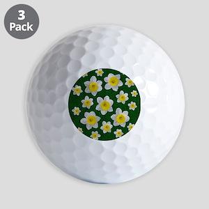 Spring Daffodils Golf Ball