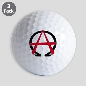 Christain Anarchy Golf Balls