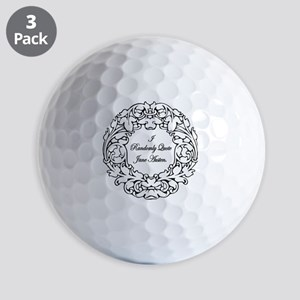 Randomly Quote Jane Austen Golf Balls