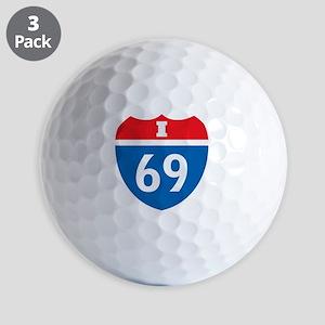+i69 Golf Balls