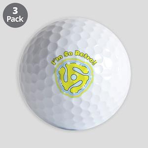 45 RPM Adapter So Retro Golf Balls