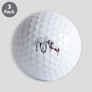 Horses Love Forever Golf Ball