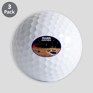 Mars Pathfinder Golf Balls