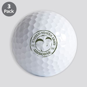 Army Airborne Golf Ball