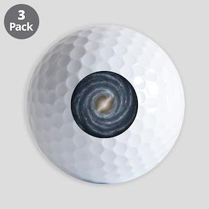 Milky Way Map Golf Balls