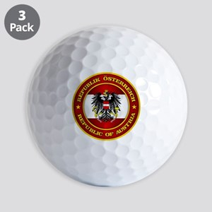 Austria Medallion Golf Ball