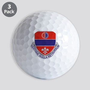116th Field Artillery Regiment Golf Balls