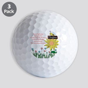 You Are My Sunshine Daughter Golf Balls