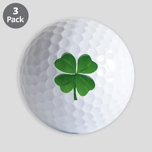 St Patrick Shamrock T Golf Ball