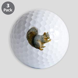 Peace Squirrel Golf Balls