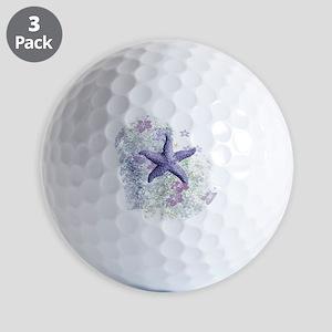 Passion Starfish Golf Balls