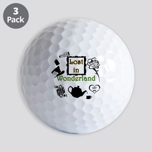 Lost in Wonderland Golf Balls