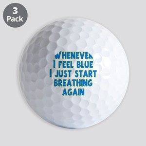 feel-blue-dk Golf Balls