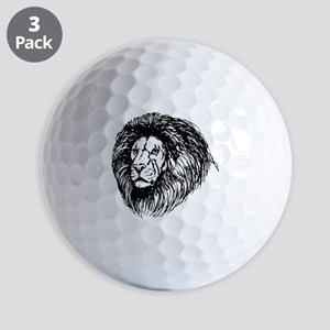 lion - king of the jungle Golf Balls
