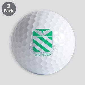 1, 2-3RD AVIATION RGT Golf Balls