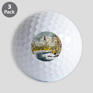 Half Dome Lover Golf Balls