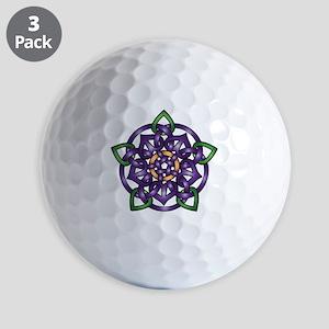 Sabines Purple Rose Golf Balls