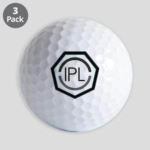 IPL - Solid Logo Golf Balls