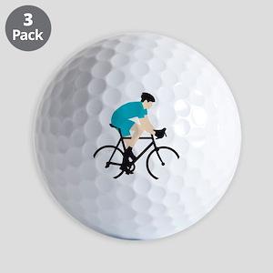 evolution bicycle racer Golf Balls