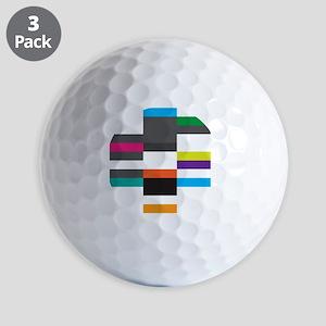 Solarstone 'Pure' Cover Art Golf Balls