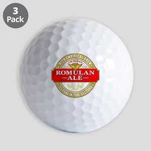 romulan ale Golf Balls