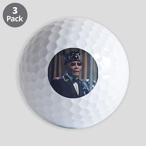 The Most Hon. Elijah Muhammad Golf Balls