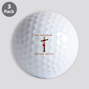 TheyHatedLiberalsXXX Golf Balls
