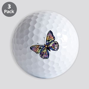 Exotic Butterfly Golf Balls