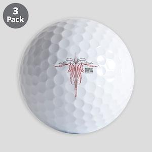 mch speed shop clear2 bck Golf Balls
