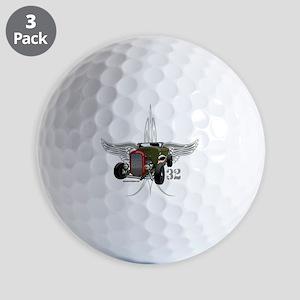 32 tiger SPEED 1-10-43light hatt 2 Golf Balls