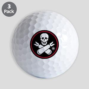 Jolly Rogers Fighter Nose Art Golf Balls