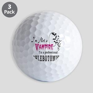 Plebotomist Golf Balls