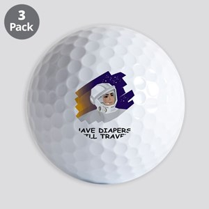 NASA-Have-Diapers Golf Balls