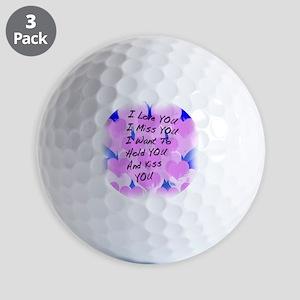 heart painting copy Golf Balls