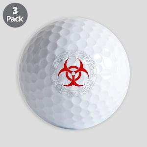 zombie-outbreak Golf Balls