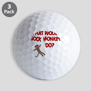 WWSMD shirt Golf Balls