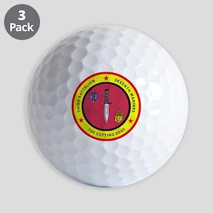 SSI-7TH MARINE RGT-3RD BN Golf Balls