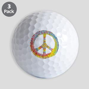 tiedye-peace-713-DKT Golf Balls