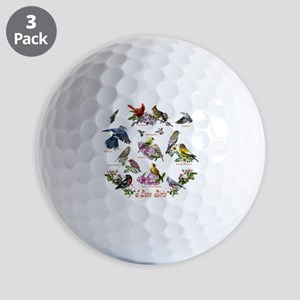 12 X T birds copy Golf Balls