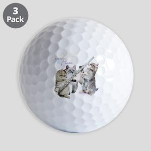 Felines & Flute Golf Balls