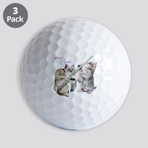 Felines  Flute Golf Balls