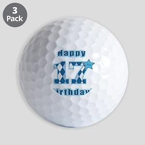 Happy 17th Birthday! Golf Balls