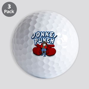 Donkey Punch v02-white Golf Balls