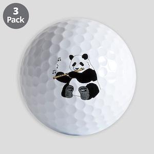 cafepress panda1 Golf Balls