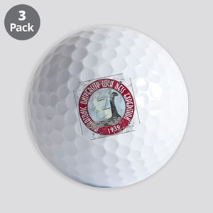 MU Loch Ness Field Label Color-m Golf Balls