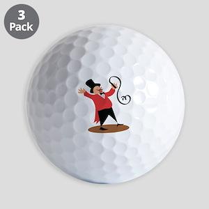 Circus Ringmaster Golf Ball