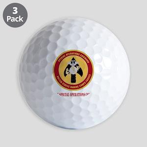 MarineSpecialOperationsCommandwithT Golf Balls