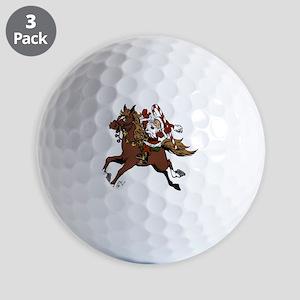 Happy Santa Golf Balls